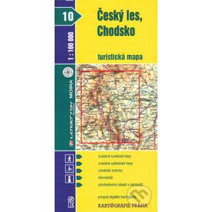 Český les, Chodsko turistická mapa 1:100 000 - Kartografie Praha