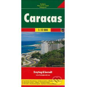 Caracas 1:12 000 - freytag&berndt
