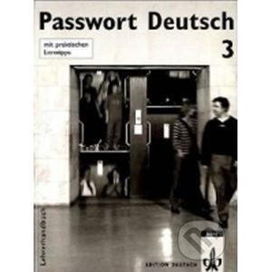 Passwort Deutsch 3 - Metodická příručka (5-dílný) - Ch. Fandrych, D. Dane, U. Albrecht