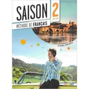 Saison 2 A2-B1 - Livre d'éleve - Marie-Noëlle Cocton