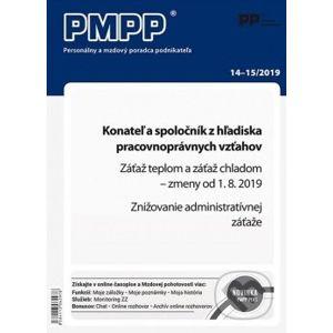 PMPP 14-15/2019 Konateľ a spoločník z hľadiska pracovnoprávnych vzťahov - Poradca podnikateľa