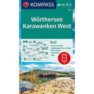 Wörthersee, Karawanken West - MAIRDUMONT