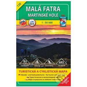 Malá Fatra - Martinské hole - turistická mapa č. 120 - Kolektív autorov