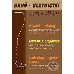 Daně, účetnictví vzory a případy (DÚVaP) 11-12/2019 - Poradce s.r.o.