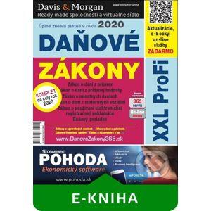 Daňové zákony 2020 SR XXL ProFi - DonauMedia