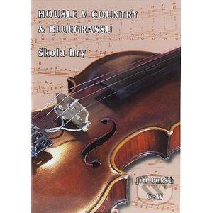 Housle v country & bluegrassu škola hry + CD - Jiří Lukšů