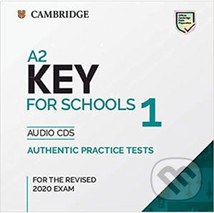 A2 Key for Schools 1 for revised exam from 2020 - Audio CD - Cambridge University Press