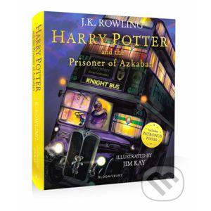 Harry Potter and the Prisoner of Azkaban - J.K. Rowling, Jim Kay (ilustrácie)
