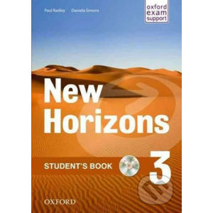 New Horizons 3: Student´s Book with CD-ROM Pack - Paul Radley