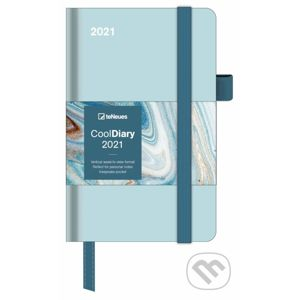 CoolDiary Mint/Marble 2021 Small - Te Neues