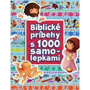 Biblické príbehy s 1000 samolepkami - Slovenská biblická spoločnosť