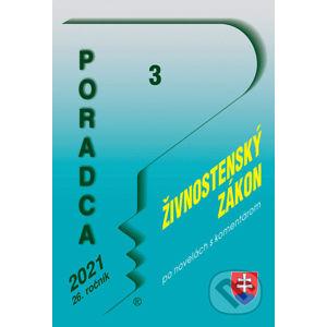 Poradca 3/2021 – Živnostenský zákon - Poradca s.r.o.