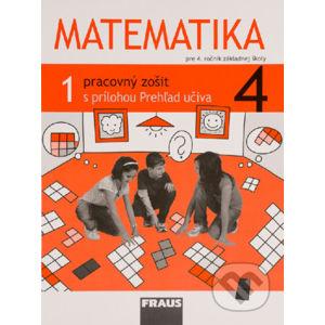 Matematika 4 - Pracovný zošit 1. diel - Milan Hejný