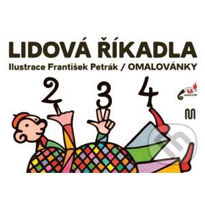 Lidová říkadla - František Petrák (ilustrátor)