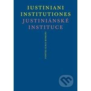 Justiniánské instituce - Peter Blaho, Michal Skřejpek