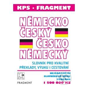 Německo-český a česko-německý slovník - Nakladatelství Fragment