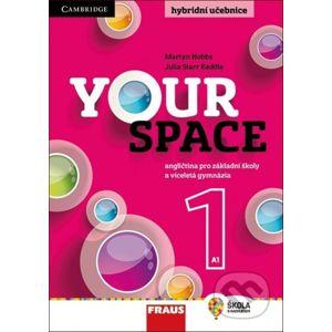 Your Space 1 Hybridní učebnice - Julia Starr Keddle, Martyn Hobbs, Helena Wdowyczynová