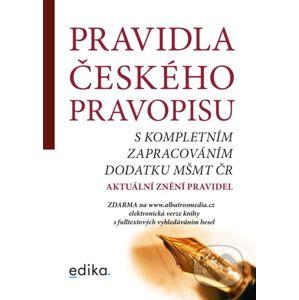 Pravidla českého pravopisu - Edika