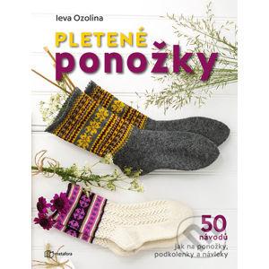 Pletené ponožky - Ieva Ozolina