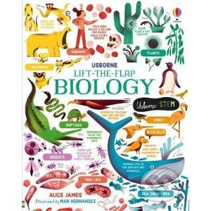 Lift-the-Flap Biology - Alice James, Mar Hernandez (ilustrator)