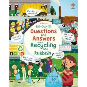 Questions and Answers about Recycling and Rubbish - Katie Daynes, Peter Donnelly (ilustrator)