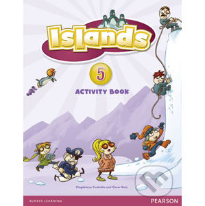 Islands 5 Activity Book plus PIN code - Magdalena Custodio