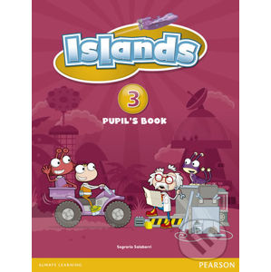 Islands 3 Pupil´s Book plus PIN code - Sally Burgess