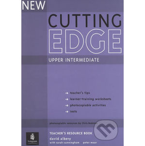 New Cutting Edge Upper Intermediate Teacher´s Book w/ Test Master CD-ROM Pack - David Albery