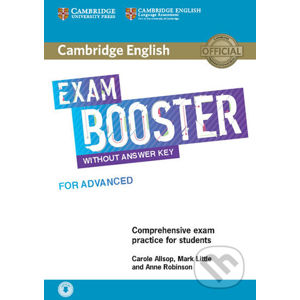 Cambridge English Exam Booster for Advanced without Answer Key with Audio - Mark Little, Carole Allsop