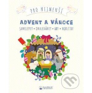 Advent a Vánoce pro nejmenší - Samolepky, omalovánky, hry, modlitby - Karmelitánské nakladatelství