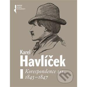 Karel Havlíček. Korespondence III. 1845 - 1847 - Robert Adam