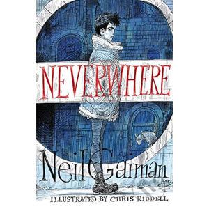 Neverwhere - Neil Gaiman, Chris Riddel (ilustrátor)