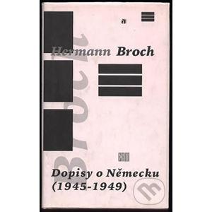 Dopisy o Německu - Helmut Kohlenberger
