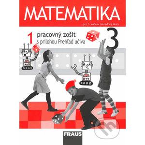 Matematika 3 - Pracovný zošit 1. diel - Milan Hejný