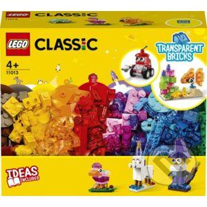 Priesvitné kreatívne kocky - LEGO