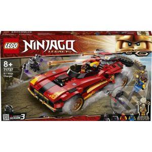 Kaiovo červené superauto - LEGO