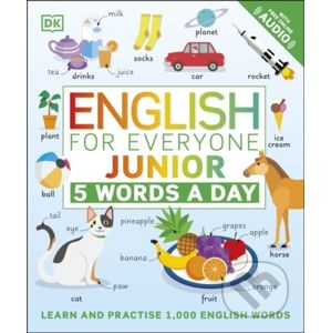 English for Everyone Junior: 5 Words a Day - Dorling Kindersley