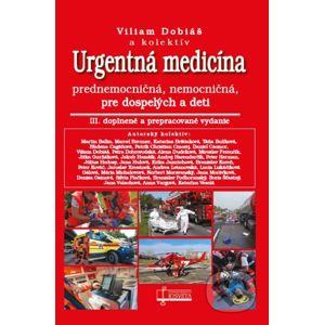Urgentná medicína - Viliam Dobiáš a kolektív